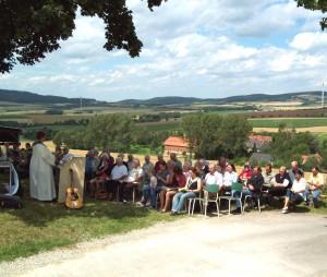 Gottesdienst in Holtershausen