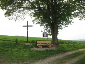 Auf der Mönchelieth oberhalb von Holtershausen